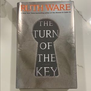 Ruth aware- The Turn of The Key hardcover book